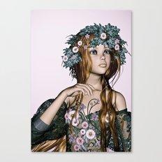 Spring Girl Canvas Print