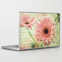 shabby chic Laptop & iPad Skins featuring Shabby Chic by whimsy canvas