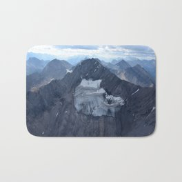 Mountains From Above Bath Mat