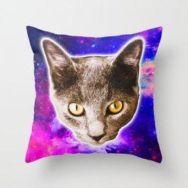 Cosmic Marvin Throw Pillow
