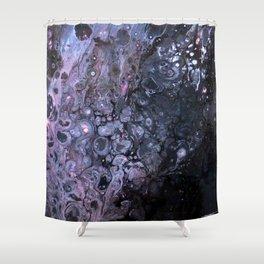 Pink Fire Shower Curtain