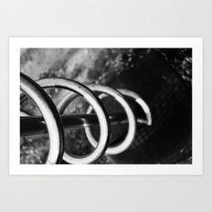 Downward Spiral Art Print