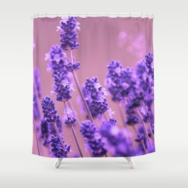 Romantic field Shower Curtain