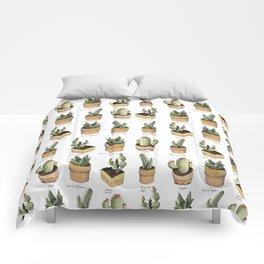 cactus in pockets Comforters