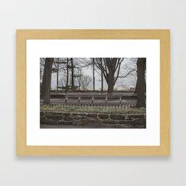 The Cloisters: Take a Seat Framed Art Print