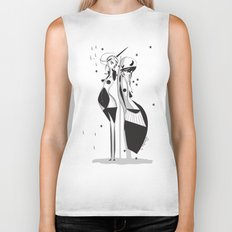 Sleepless nights - Emilie Record Biker Tank