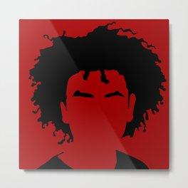 dark red Metal Print