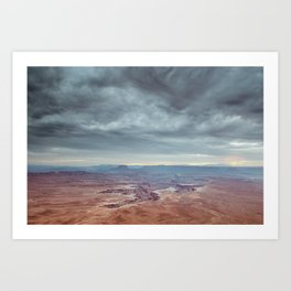 canyon country canyonlands national park Art Print