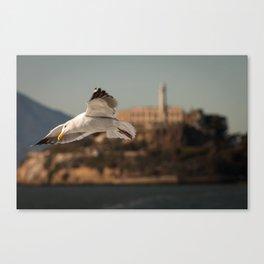 Alcatraz Freedom Canvas Print