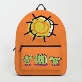 Cacti In The Arizona Desert Sun Backpack