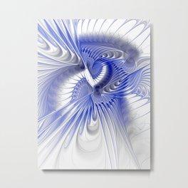 blue elegance Metal Print