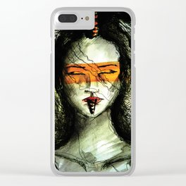Endópsia Clear iPhone Case