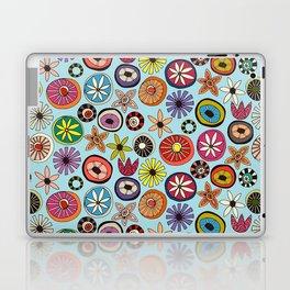 summer flowers multi sky Laptop & iPad Skin