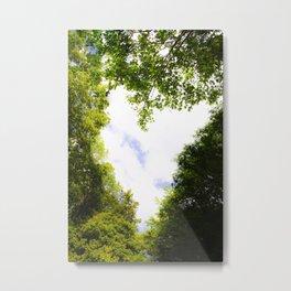I Heart Trees Metal Print