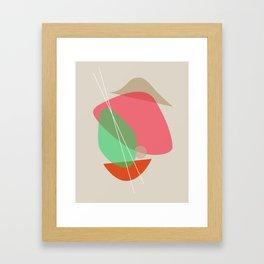 Mid Century Modern Printable,Wall Art, Large Modern Minimalist Print, Bright Decor, Boho Framed Art Print