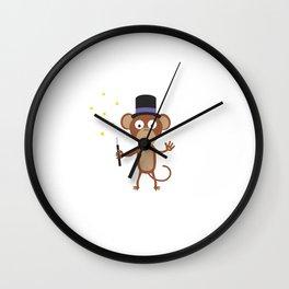magical monkey Wall Clock