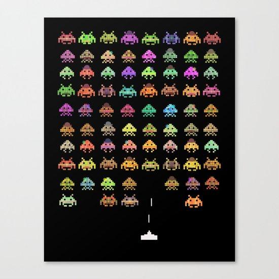 Fashionable Invasion  Canvas Print