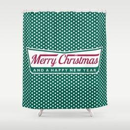 Have A Merry Krispy Christmas Shower Curtain