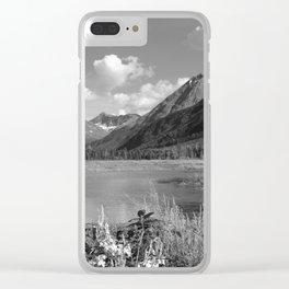 Tern Lake - Mono 2 Clear iPhone Case