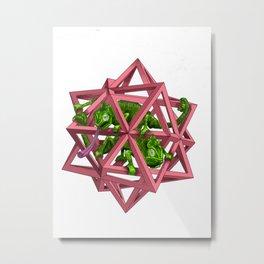 color me m.c. cubed! Metal Print
