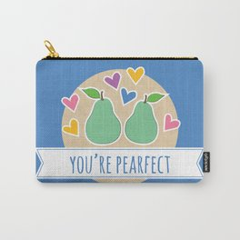 Pearfect Food Pun Carry-All Pouch