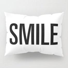 Smile Pillow Sham
