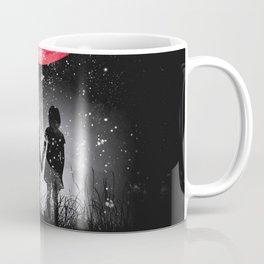 Red blue earth Coffee Mug