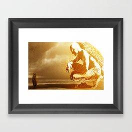 A Mighty Messenger Framed Art Print