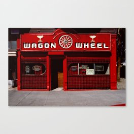Wagon Wheel Bar, San Francisco Canvas Print