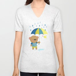 Rainy Season Unisex V-Neck