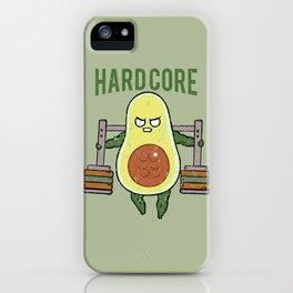 Hardcore Avocado iPhone Case
