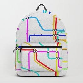 London Tube Underground Backpack