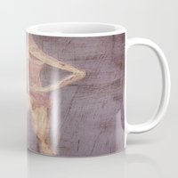 ballerina Mugs featuring Ballerina by visualTeo