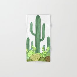 Cactus Desert Hand & Bath Towel