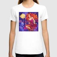 siren T-shirts featuring Siren by PlaidRed