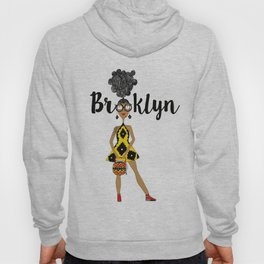 curly hair has Brooklyn Glasses Hoody