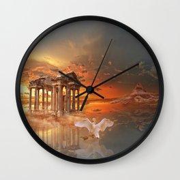 Tetrapylon of Aphrodisias Wall Clock