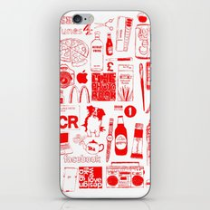 Graphics Design student poster iPhone & iPod Skin