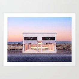 Marfa Horizontal Art Print