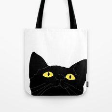 meow cat Tote Bag