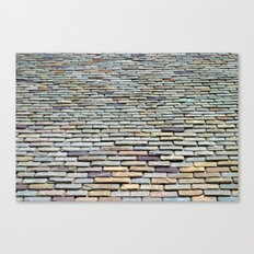 Roof Tiles Canvas Print