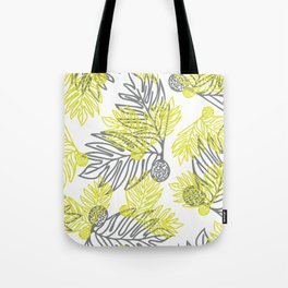 Ulu Forest Green and Grey Tote Bag