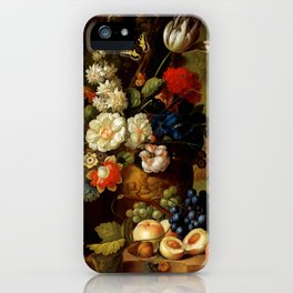 "Jan van Os ""Flowers"" iPhone Case"