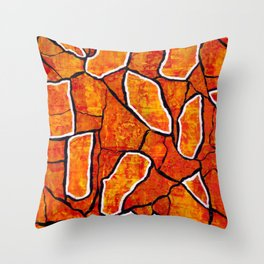 Encounter of lovers on a sunny afternoon Throw Pillow