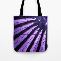 surrealism Tote Bags featuring City Surrealism by Notions