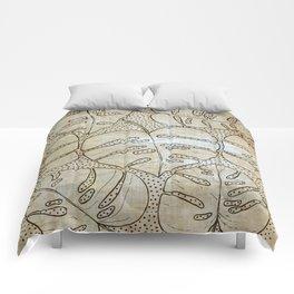 Poá Monstera Comforters