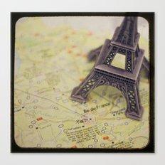 Trip To Paris Canvas Print