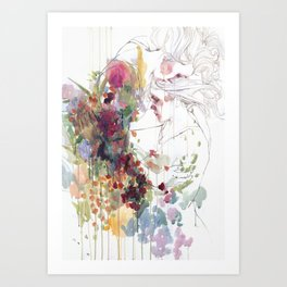 take care of your garden Art Print