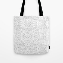 White Lace Tote Bag