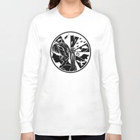 katniss Long Sleeve T-shirts featuring Tik Tok Katniss by sugarpoultry
